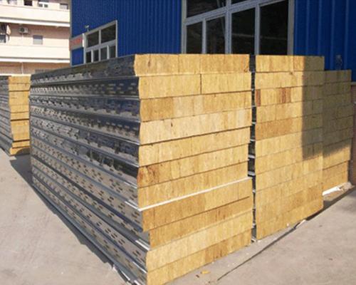 15cm厚岩棉彩钢板